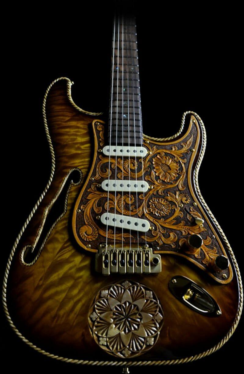 The Cowboy RH Custom Guitar Shop 8