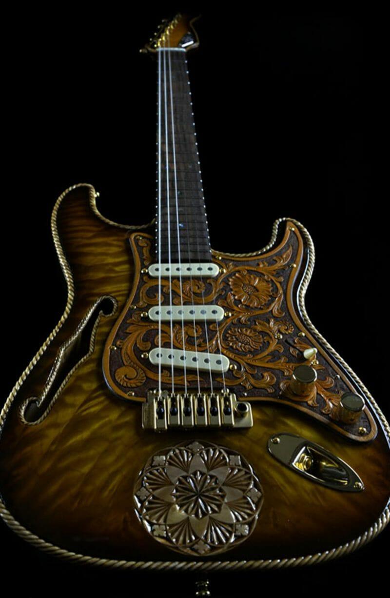 The Cowboy RH Custom Guitar Shop 5