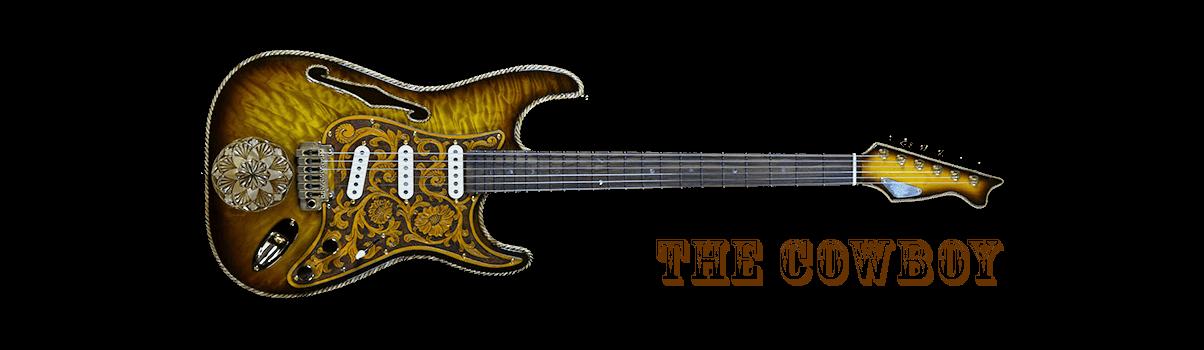 The Cowboy Guitar RH Custom & George Amicay Collaboration