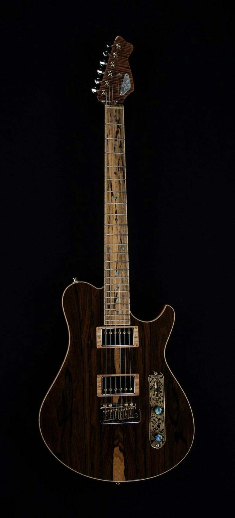 The Black Beauty Custom Guitar